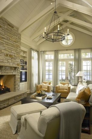 zillow design living room ideas Living Room Stone Fireplace Design Ideas & Pictures