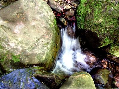 Creek Rock Falls - Castle Rock State Park