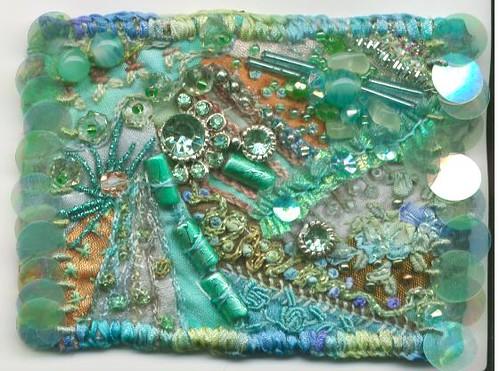 Gemstones crazy patchwork 001