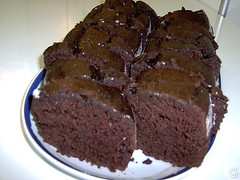 Bolo de Chocolate e Maionese