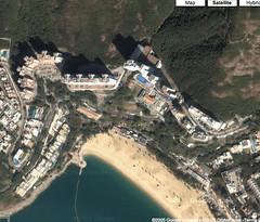 The Repulse Bay Satellite Image