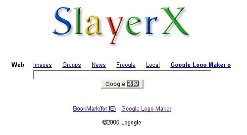 SlayerX logo Google