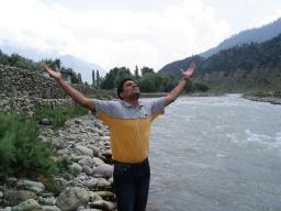 Me at Jhelum River