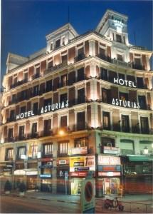 Hotel Asturias Madrid Spain