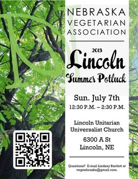 NVA 2013 Lincoln Summer Potluck Flyer
