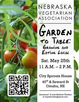NVA 2013 Garden to Table Flyer