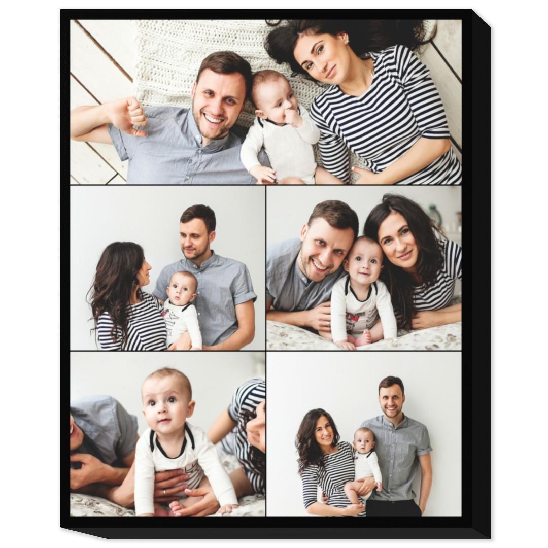 20x24 collage photo canvas