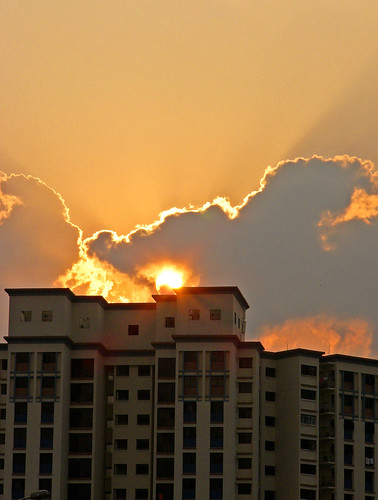 Sunset @ Sengkang
