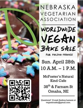 NVA 2013 Worldwide Vegan Bake Sale Flyer