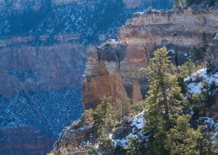 Touch of December Snow, Grand Canyon
