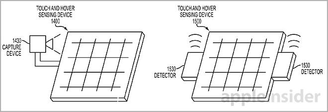 Apple patents accurate touch and hover panel, embedded