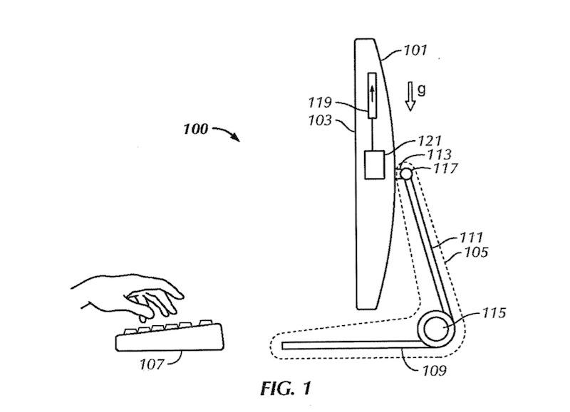 Apple filing shows touch-screen iMac with adjustable stand