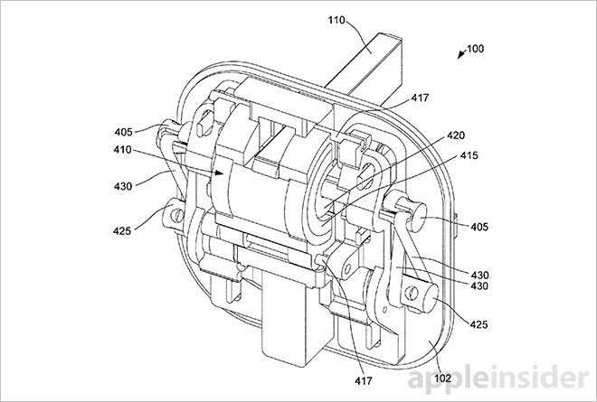 Apple patent adds magnetic drive actuation to UK-style