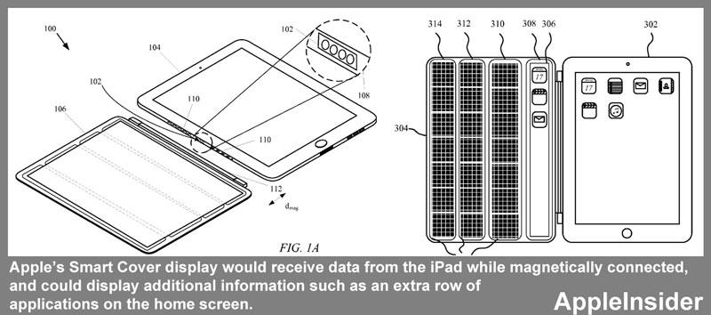 Apple investigating iPad Smart Cover with secondary