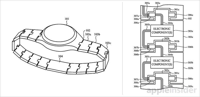 Apple patent details modular Apple Watch accessories
