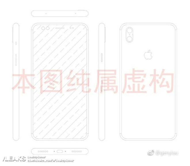 Likely bogus schematic of Apple's 'iPhone 8' surfaces on