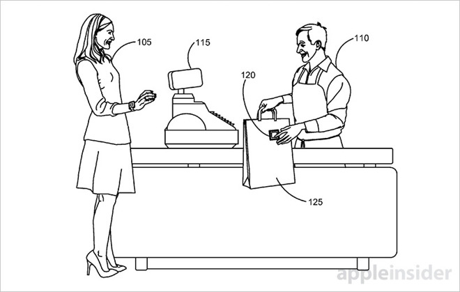 Apple invention uses RFID tags, Apple Watch to track food