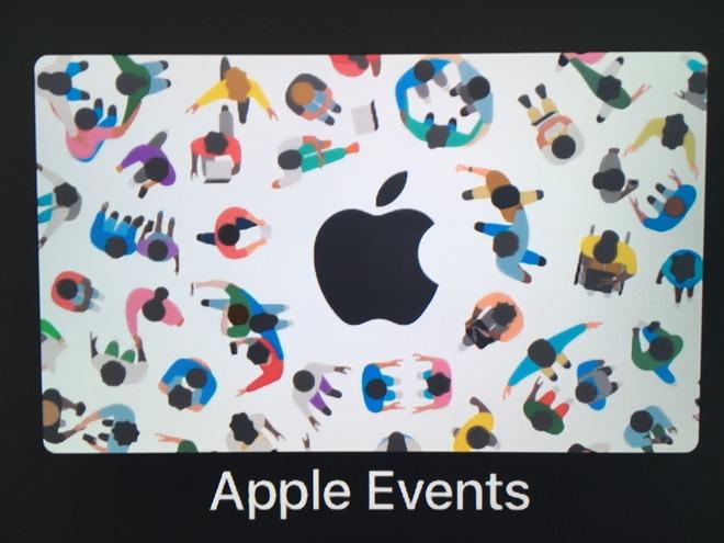 apple tv events app