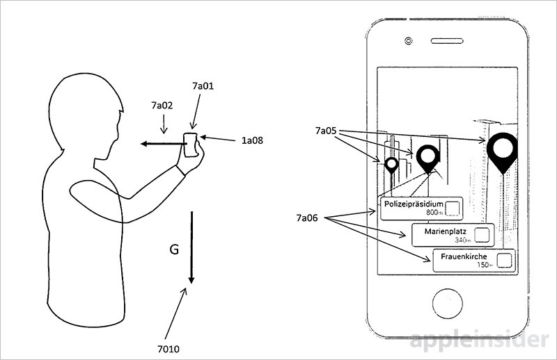 Apple invention details AR mapping system for iPhone, head