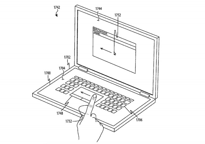 Apple seeks patent for 'keyless keyboard' concept with
