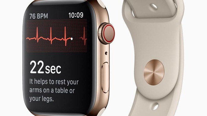 Image result for apple watch series 4 ecg