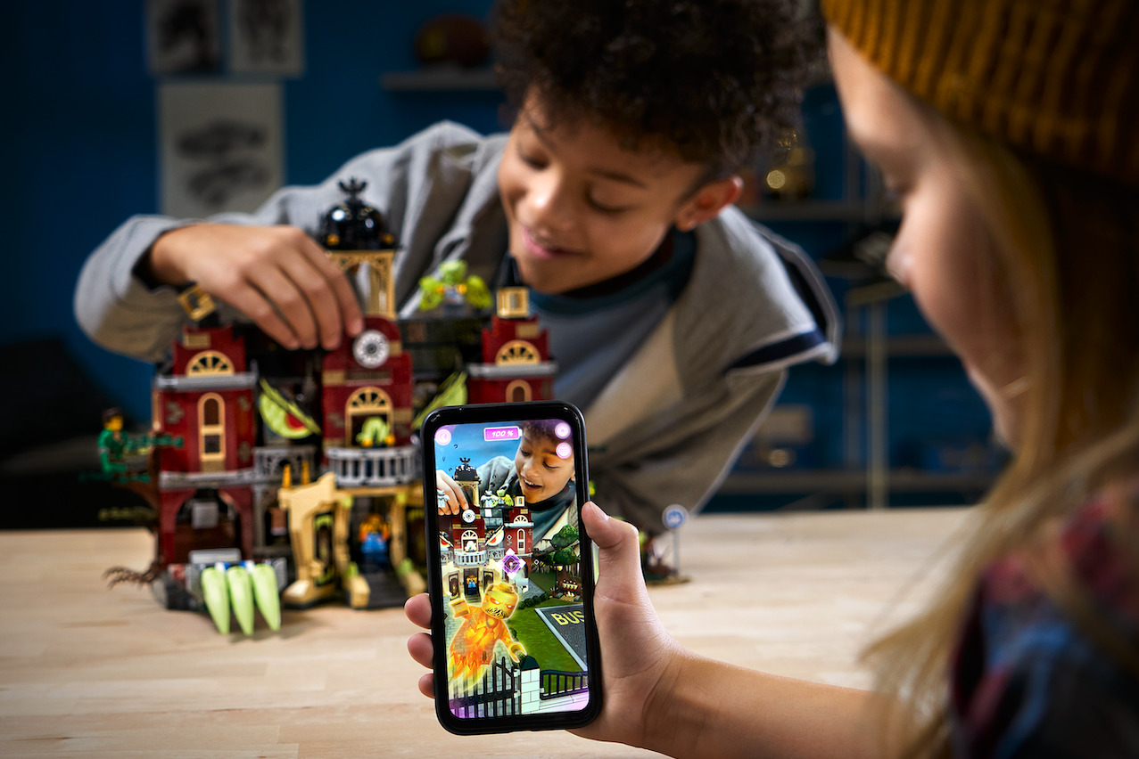 Lego returning to ARKit 2 with Hidden Side haunted