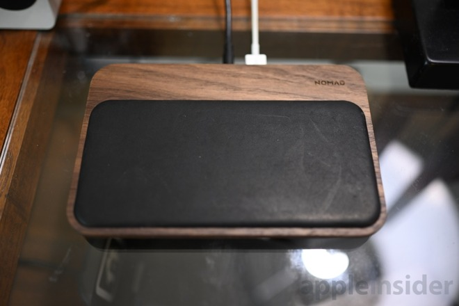 Nomad Walnut Base Station