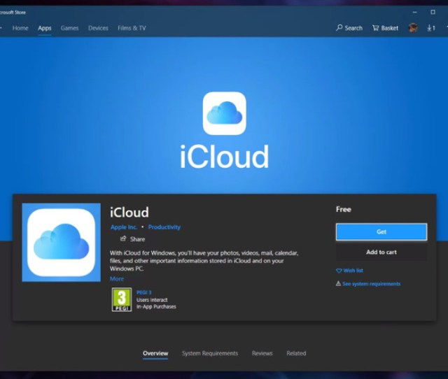 Icloud For Windows App With Onedrive Files On Demand Now In Microsoft Store