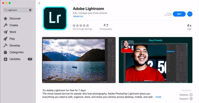 adobe brings lightroom to