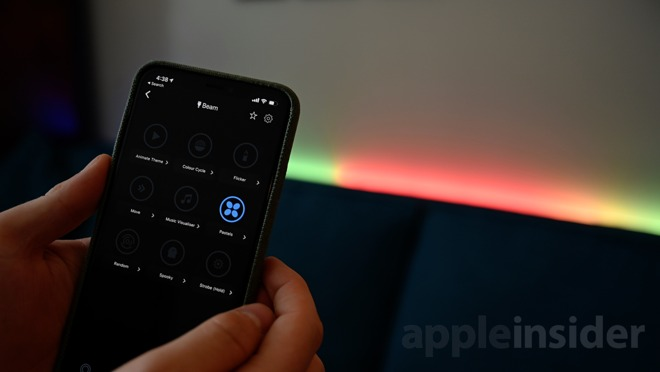 review the lifx beam