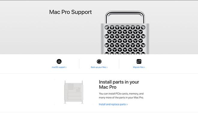 Soporte Mac Pro