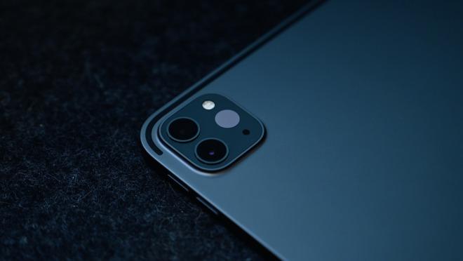 The new camera bump on the 2020 iPad Pro