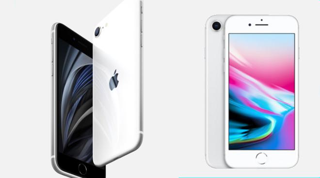Compared Iphone 8 Versus Iphone Se Appleinsider