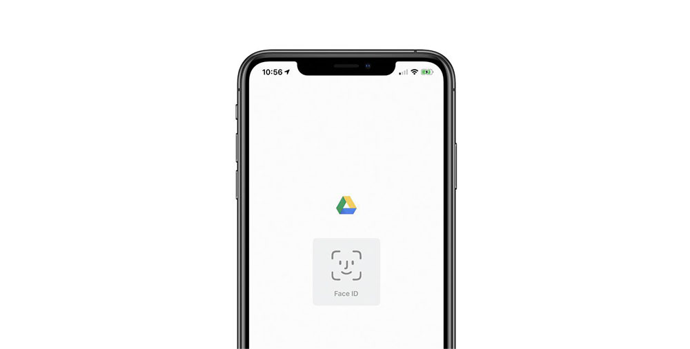 Google Drive iOS app can now be secured with Face ID and