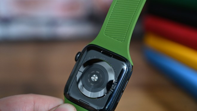The back of the UAG Scout Apple Watch band