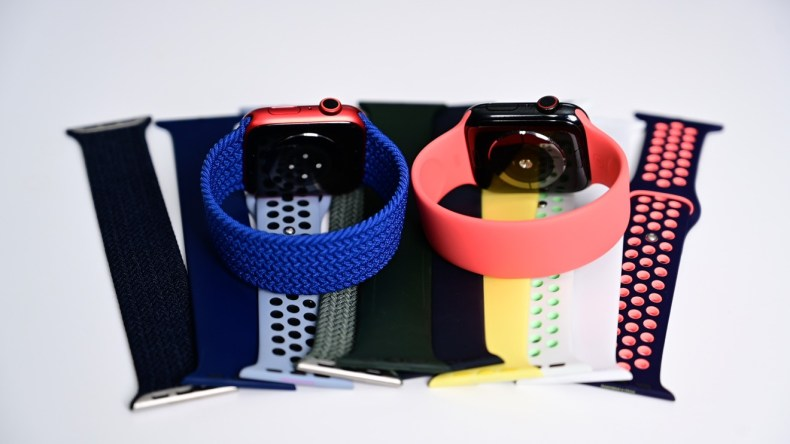 New band options with Apple Watch Series 6