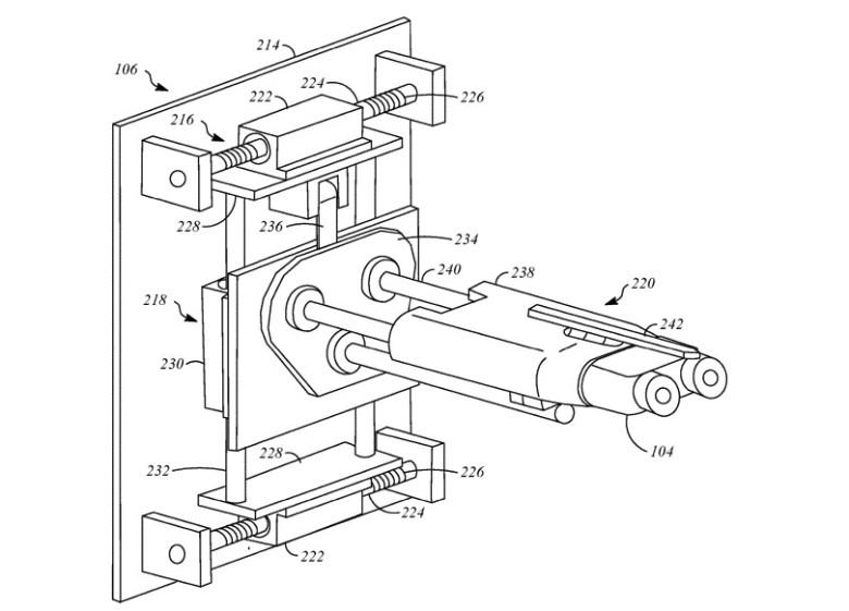 Patente Apple sistema de carga