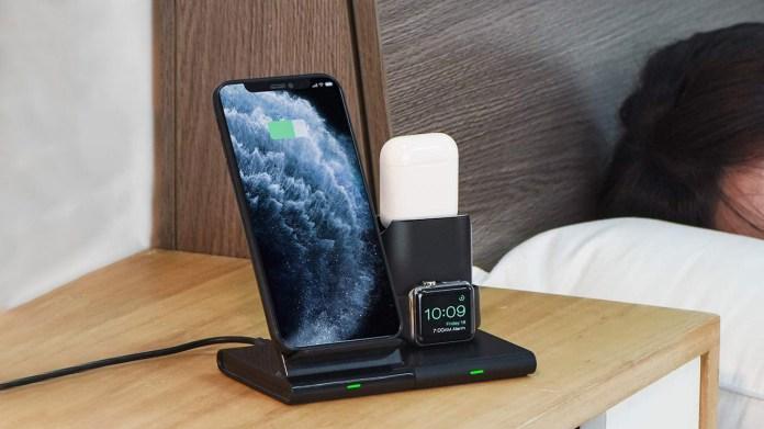 Seneo 3-in-1 wireless-charging station