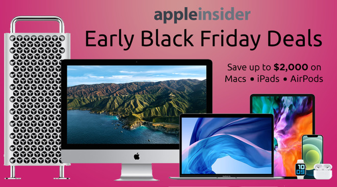 Early Black Friday sale at B&H on Apple
