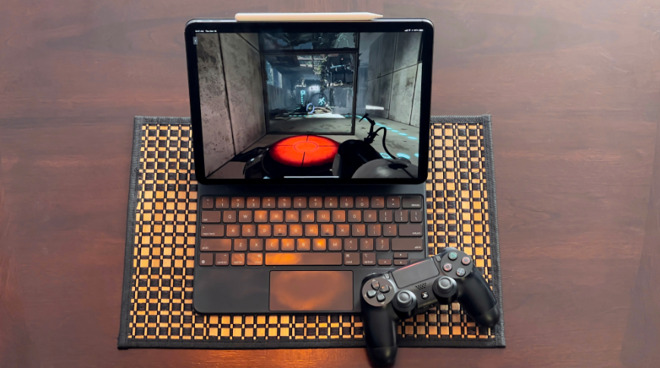 Play games like Portal 2 on your iPad using GeForce Now