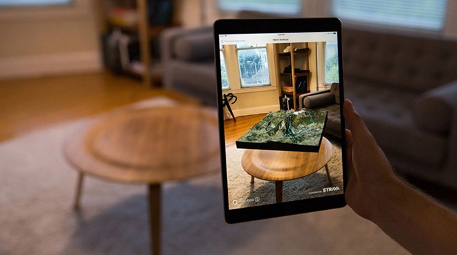 Future Apple displays, including AR ones, could be made crisper and use less energy