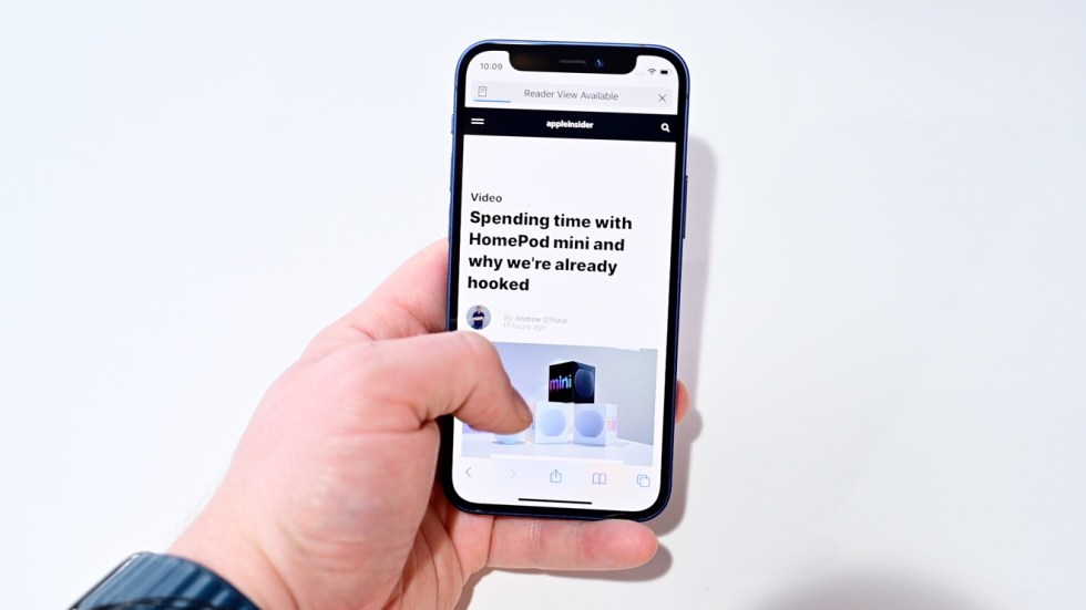 It is easy to use iPhone 12 mini one-handed