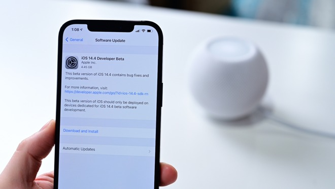 iOS 14.4 for iPhone