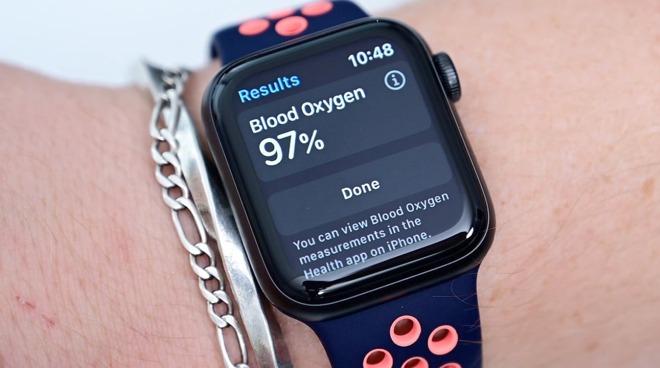 L'Apple Watch Series 6 può determinare i livelli di ossigeno nel sangue.