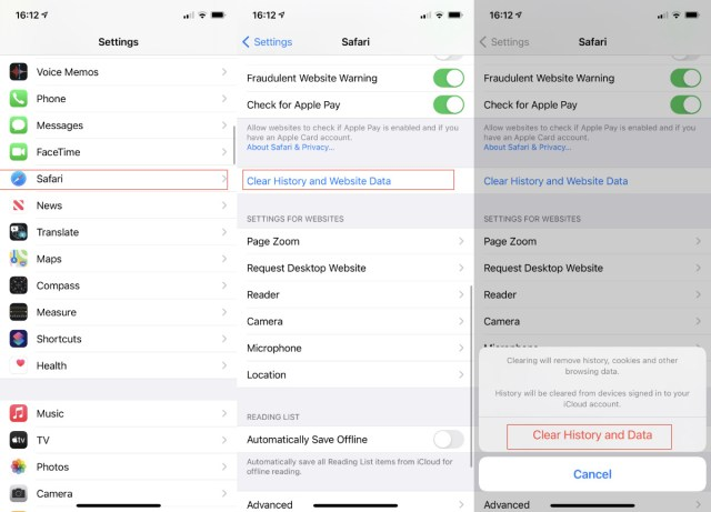 How to clear browsing history on Safari on iPhone or Mac