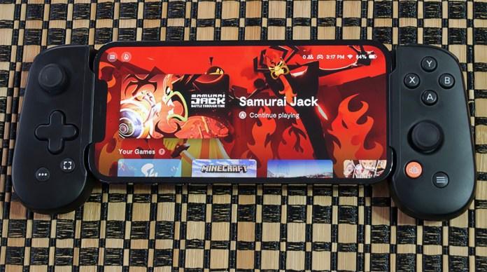 Backbone One gaming controller