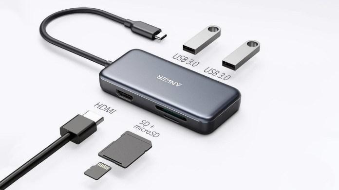 Anker USB-C Hub for MacBook Air