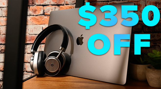 MacBook Pro deals on 16 inch model with $350 off text