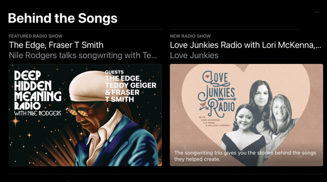 New Apple Music section highlights songwriters and producers in 'Behind the Songs'