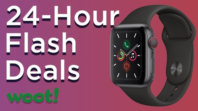 Apple Watch deals on Series 5 with Cellular at Woot